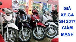 SH 2017, Lead 2018, Vision giảm tại Sài Gòn. Giá xe Honda mới nhất hôm nay
