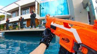 Nerf FPS: Huge MANSION Battle
