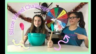 Mystery Wheel Of Slime Challenge!