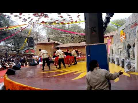 Russian Girls Dance Performance at Surajkund Mela 2016 - Day 8
