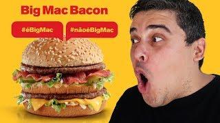 BIG MAC COM BACON É BIG MAC OU NÃO É?