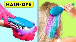 44 EASY HAIR HACKS TO LOOK STUNNING EVERY DAY