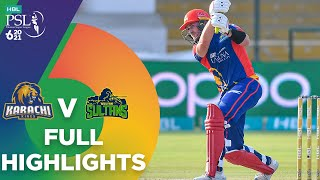 Full Highlights   Karachi Kings vs Multan Sultans   Match 9   HBL PSL 6   MG2T