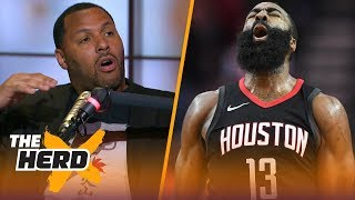 Eddie House on why James Harden and Westbrook are too alike, Talks Curry and LeBron | NBA | THE HERD