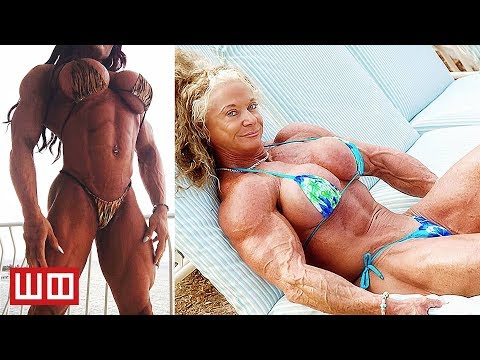 Most Extreme Female Bodybuilders...That Haven't Been Morphed in Photoshop