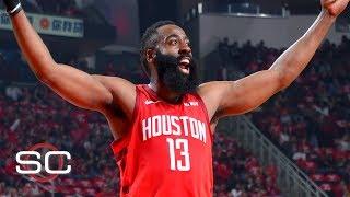 James Harden's dominance has made Rockets' series vs. Jazz 'laughable' - Tim Legler | SportsCenter