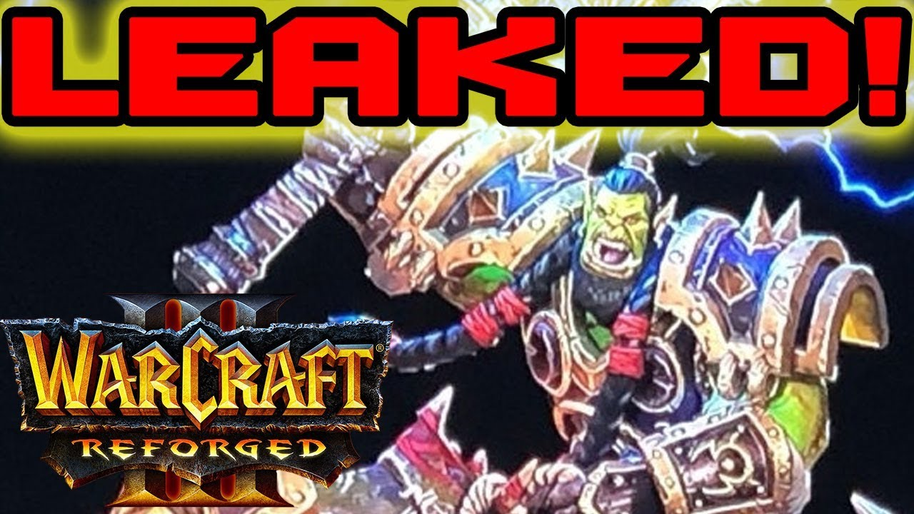 Warcraft III: Reforged News & Interview / Story, Custom