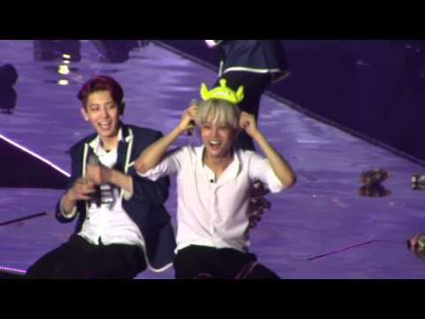 [Fancam] 140602 EXO The Lost Planet in HK - Lucky (KAI Focus)