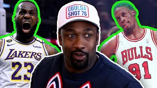 """Dennis Rodman Could NOT Stop LeBron James"" Gilbert Arenas Defends Today's ""Soft"" NBA"