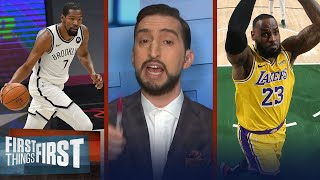 Nick ranks the Top 15 NBA performances of the week | FIRST THINGS FIRST