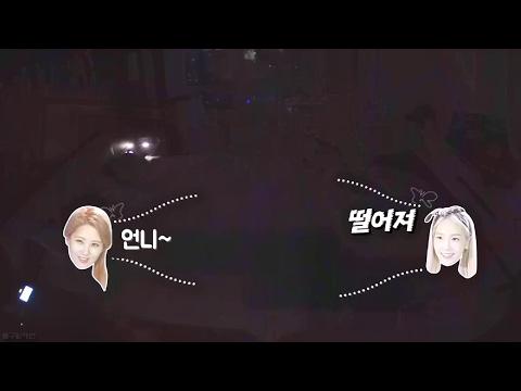 소녀시대 리더 태연과 막내 서현이 노는 방법 (ft.대형견과 소주인)