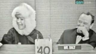 """Carol Channing on """"What's My Line?"""""""