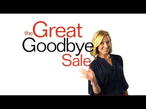 Susan Baierl and the Great Goodbye Sale