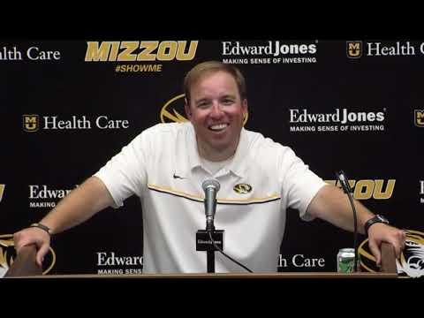 Missouri coach  Eliah Drinkwitz talks about defeating LSU