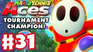 Mario Tennis Aces - Gameplay Walkthrough Part 31 - Doubles Tournament! Shy Guy! (Nintendo Switch)
