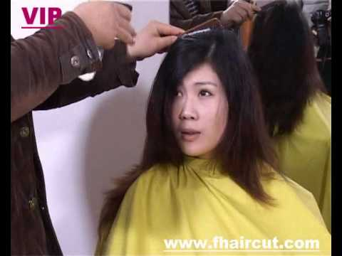 show me haircuts model in dye hair cut to 3222