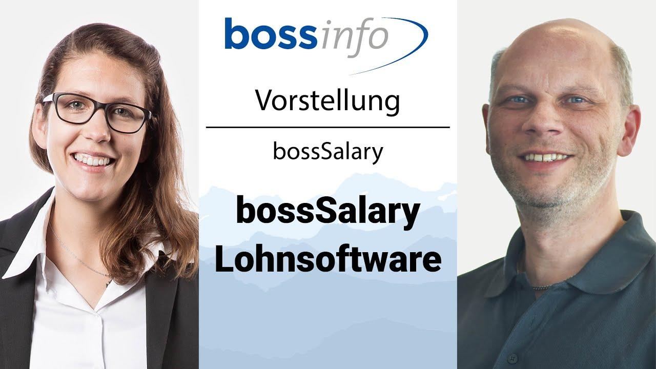 Vorstellung bossSalary Lohnsoftware