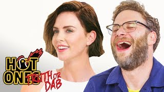 Seth Rogen and Charlize Theron Play Truth or Dab | Hot Ones