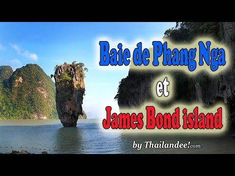 la baie de phang nga et james bond island