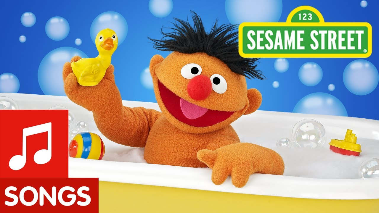 Sesame Street Ernie And His Rubber Duckie Youtube