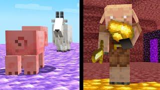 ✅ 50 Cosas Que No Sabías de Minecraft 1.17 Snapshot 21W15A - Oro Crudo con Piglins, Cabras y más!