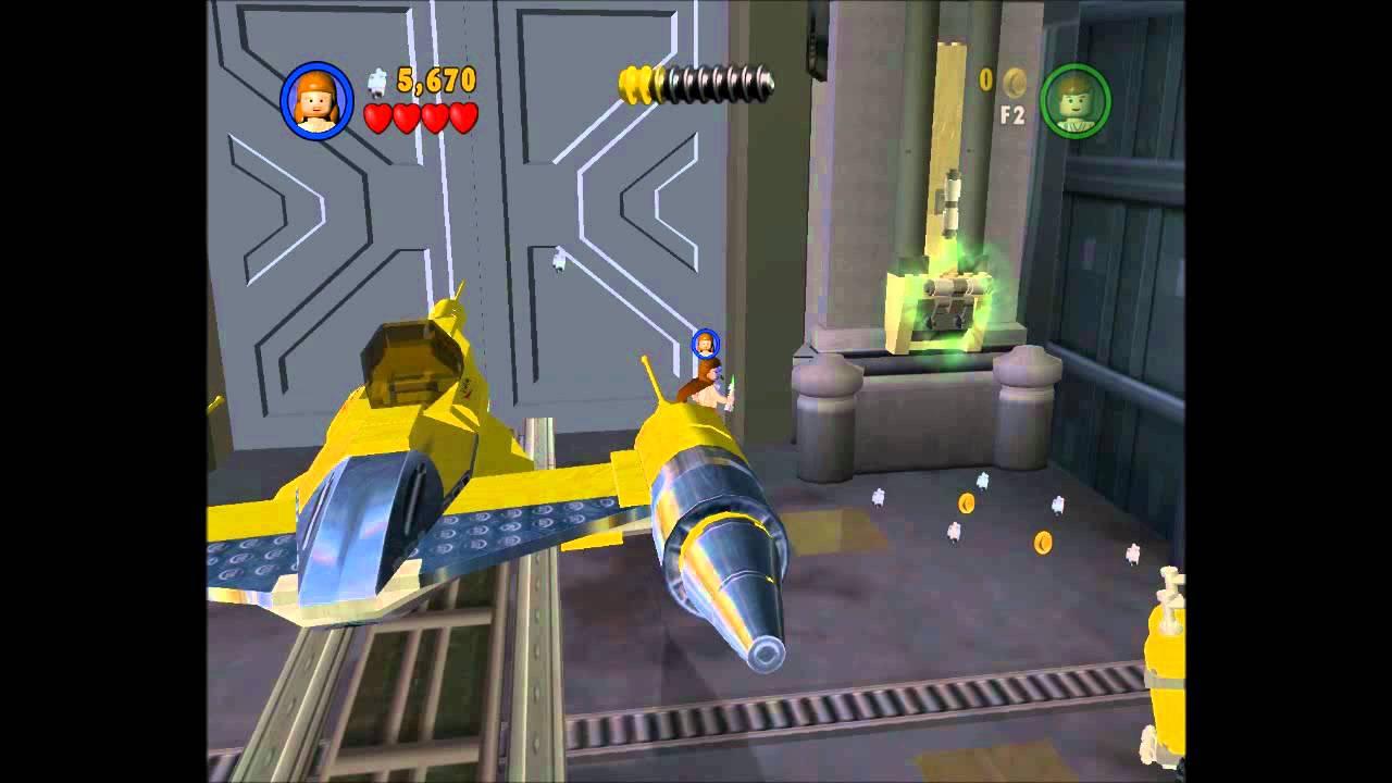 Lego Star Wars Wii Episode V Chapter 1 Basket Case Movie Video