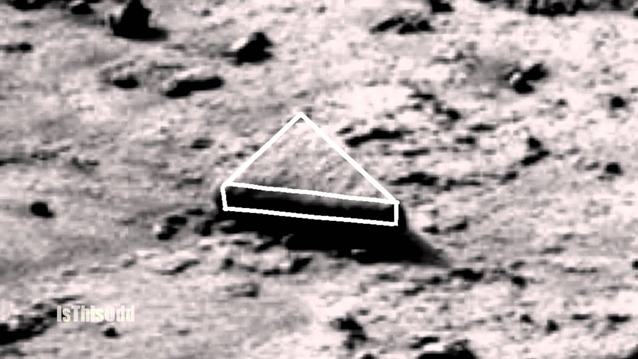 Triangle Monolith formation on Mars - YouTube