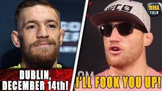 Conor McGregor HINTS at potential return in Dublin?, Helwani calls for McGregor vs Gaethje fight