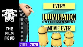 Every Illumination Entertainment Movie Ever (2010 - 2020) | Upcoming Movies | The Film Fiend