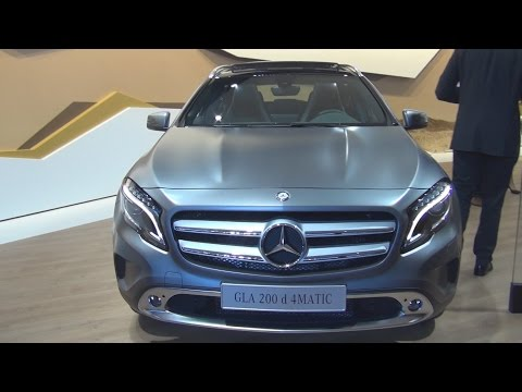 Mercedes-Benz GLA 200 d 4MATIC Offroader (2016) Exterior and Interior in 3D