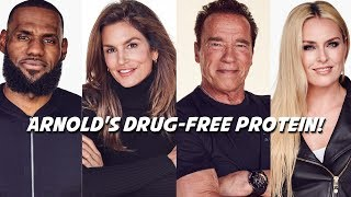 Arnold + LeBron Bring You Ladder - Drug-Free Protein for YOUR Body Chemistry?