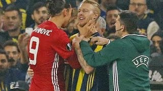 Zlatan Ibrahimovic - Best Fights & Angry Moments   HD
