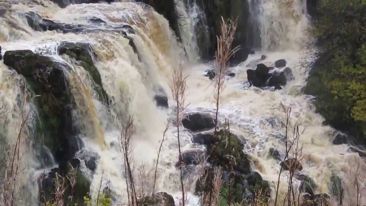 BMW E39 M5 >> Endrick Falls Loup Of Fintry - YouTube