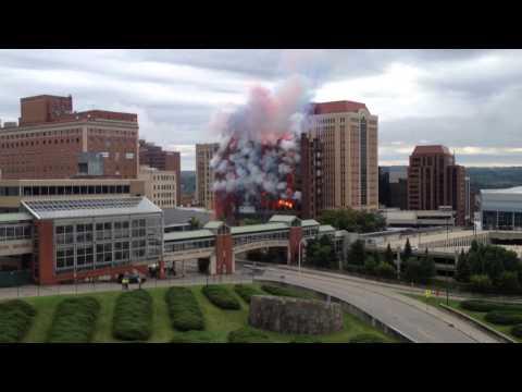 Spektakularno rušenje hotela za samo 60 sekundi