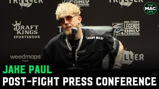 Jake Paul reacts to Nate Robinson KO; Promises Conor McGregor fight will happen