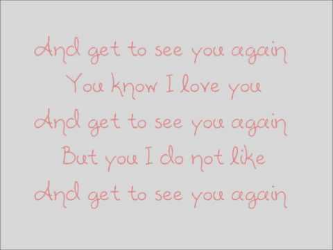 Delilah - See you again with lyrics
