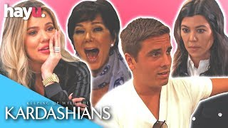 Hilarious Pregnancy Test Moments With The Kardashians | Keeping up With The Kardashians