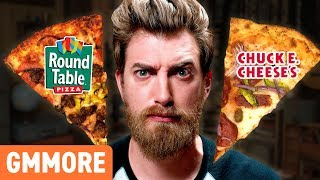 Round Table Pizza & Chuck E Cheese's Taste Test