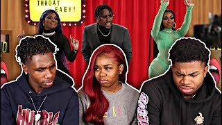 BRS KASH THROAT BABY REMIX FT. DABABY, CITY GIRLS | REACTION