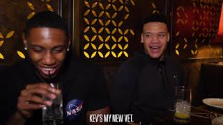 Kevin Knox Dishes Advice to Rookies RJ Barrett and Ignas Brazdeikis Over Dinner in Vegas