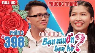 Chia tay người yêu 1 tháng-anh chàng khiến hotgirl BĐS hoang mang |Quốc Hưng - Phương Trang|BMHH 398