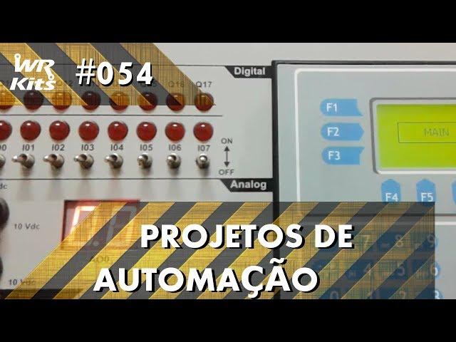 LÂMPADAS AUTOMÁTICAS COM PIR E CLP ALTUS DUO | Projetos de Automação #054