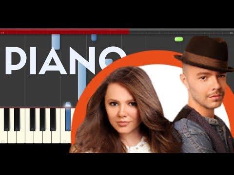 Jesse Joy Echoes of Love piano midi tutorial sheet partitura Ecos de amor cover