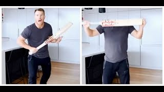 Watch: David Warner hilariously disappears with a cricket ..