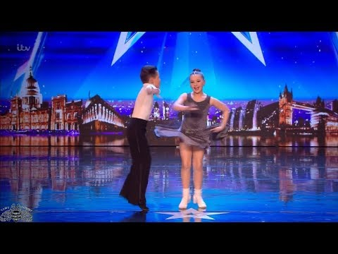Britain's Got Talent 2018 Lexie & Christopher 10 Year Old Dancers Full Audition S12E03