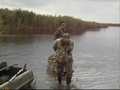 Охота на утку в Стенцовских  плавнях