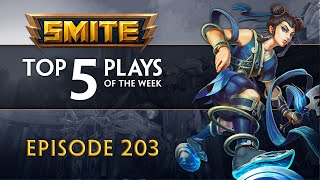 SMITE - Top 5 Plays #203