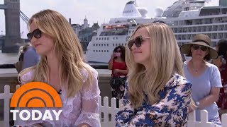 Amanda Seyfried And Lily James Talk 'Mamma Mia! Here We Go Again' | TODAY