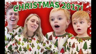 CHRISTMAS DAY 2017 With TWO KIDS And PREGNANT!