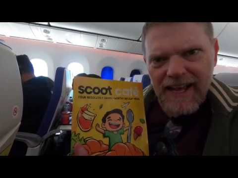 Flying Scoot Airlines To Singapore, Chicken Rice and Shopping - Day 1